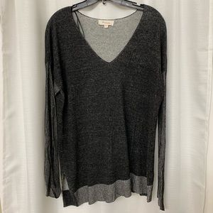 TWO BY VINCE CAMUTO LIGHTWEIGHT DUAL LAYER TUNIC L